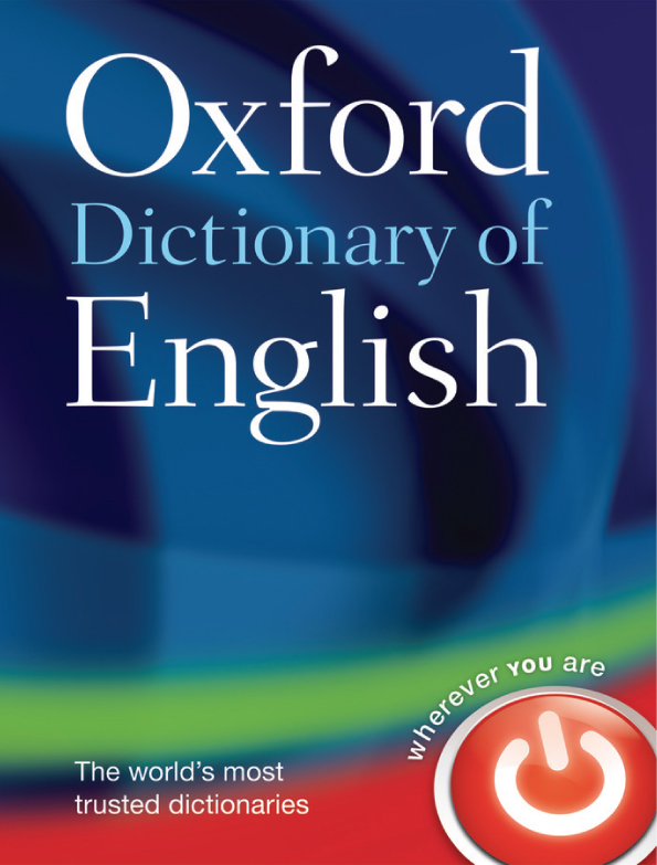 Oxford Dictionary of English (Third edition)