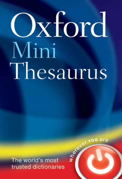 Oxford Mini Thesaurus (Fifth edition)