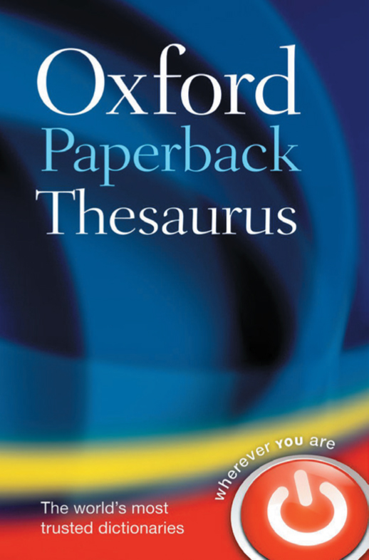 Oxford Paperback Thesaurus (Fourth edition)